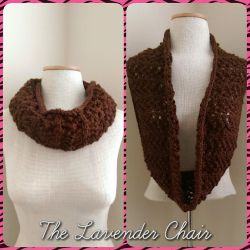 Lacy Infinity Cowl