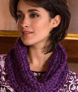 Purple Passion Cowl
