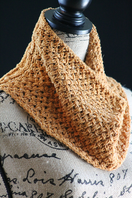 Knitting Patterns Galore Honey Cowl
