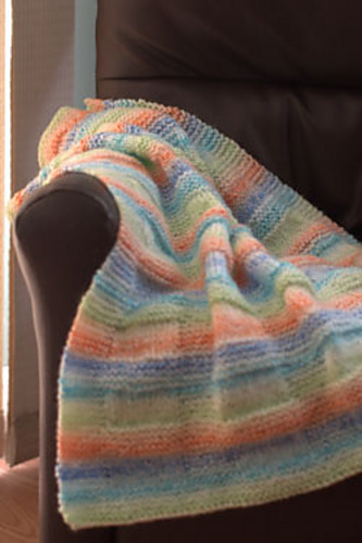 Textured Baby Blanket Knitting Pattern : Knitting Patterns Galore - Textured Boxes Baby Blanket