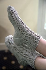 Lace Bed Socks