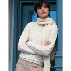 Easy Street Pullover and Scarf