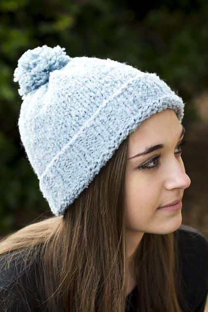 Knitting Patterns Galore Flurry Hat