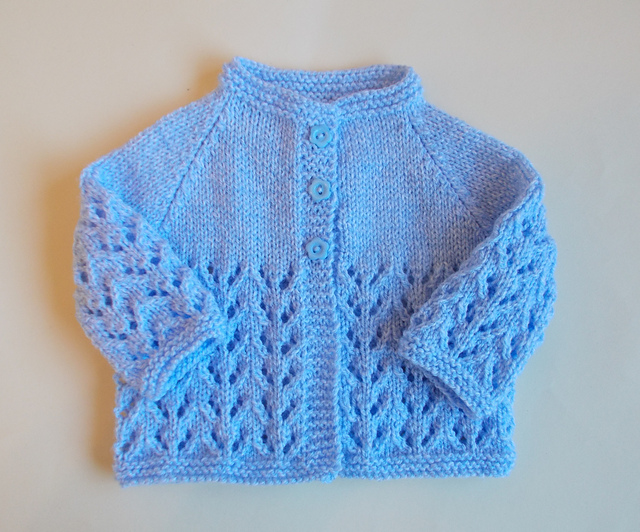 Knitting Patterns Galore Baby : Knitting Patterns Galore - Bibi Baby Jacket