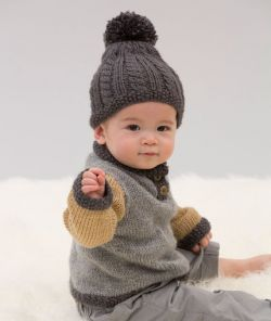 Handsome Sweater and Hat