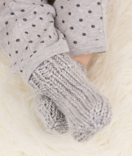 Knitting Patterns Galore - Baby Socks