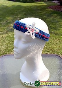 Last Minute 4th of July Headband
