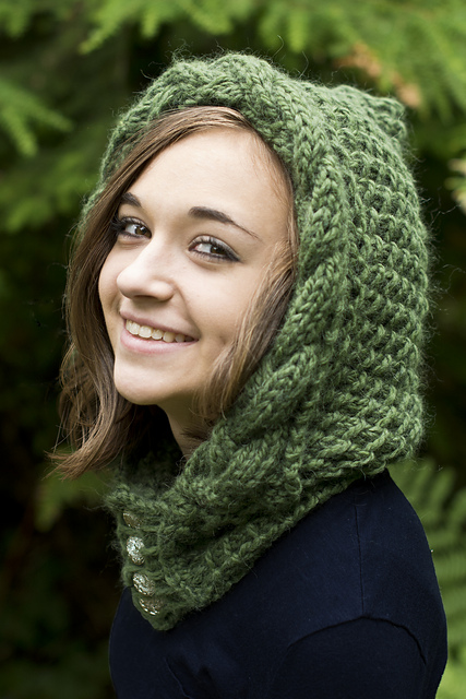 Knitting Patterns Galore - Knockma Hood