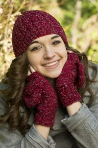 Popover Mitts and Hat