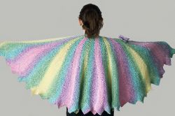 Color Wheel Shawl