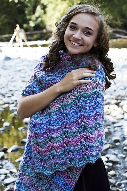 Knitting Patterns Galore Hugs And Prayers Shawl