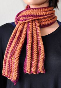 Ripple Rows Scarf