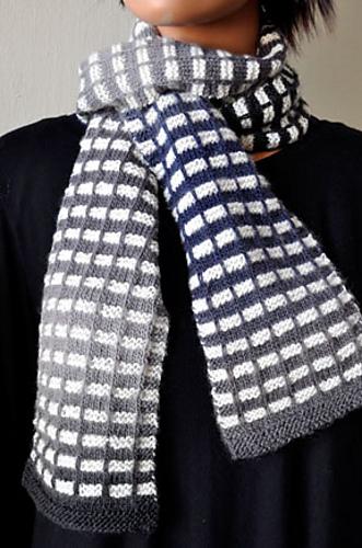 Knitting Patterns Galore L Train Scarf