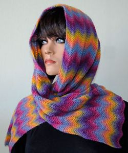 Electric Sunrise Scarf