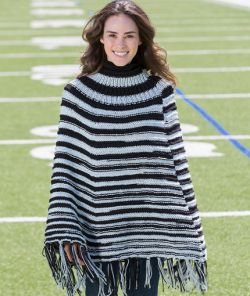 Game Ready Knit Poncho