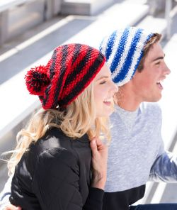 Let's Go! Slouchy Knit Hat