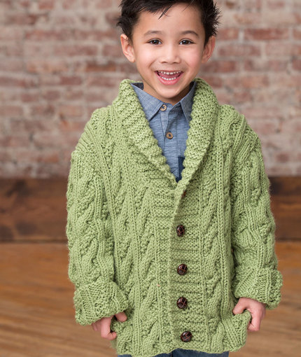 Knitting Pattern Cardigan 4 Year Old : Knitting Patterns Galore - Kid s Cable Cardigan