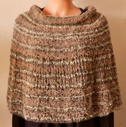 Easy Cowl-Capelet