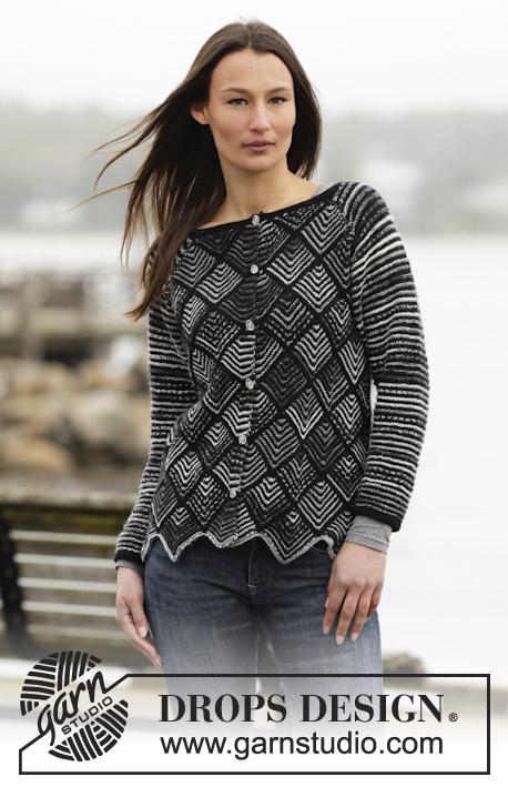 0f06dfad9b525 Checkmate Cardigan Free Knitting Pattern. Checkmate Cardigan