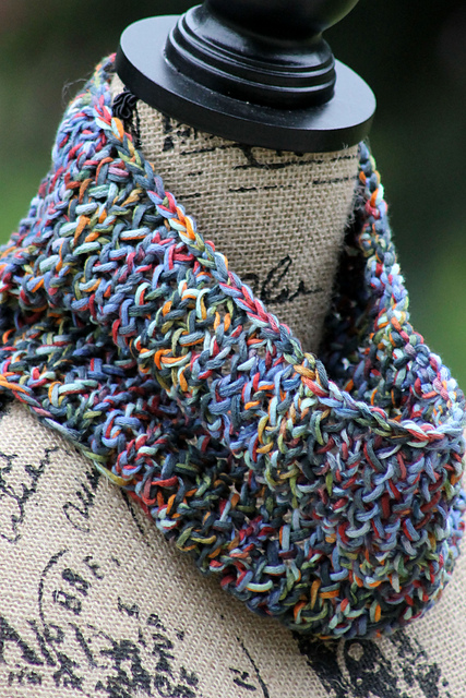 Knitting Patterns Galore 81 Yard Cowl