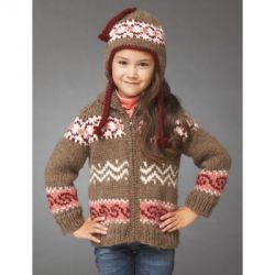 Hot Cocoa Jacket and Hat