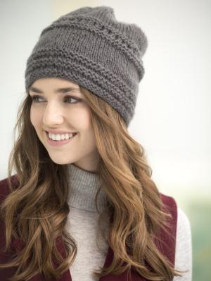 Free Knit Hat Patterns For Women : Knitting Patterns Galore - Tivoli Slouch Hat