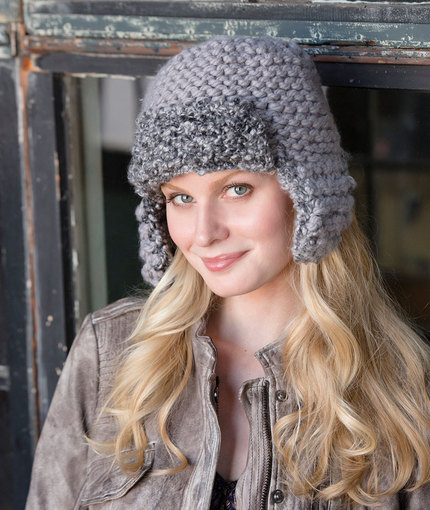 Knitting Patterns Galore - Mixed Aviator Hat 3690aced735