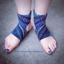 Trikonasana Yoga Socks