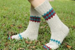 Interlock Socks