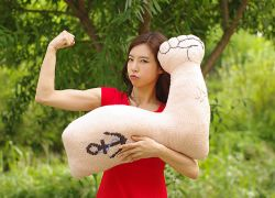 Strong arm cushion