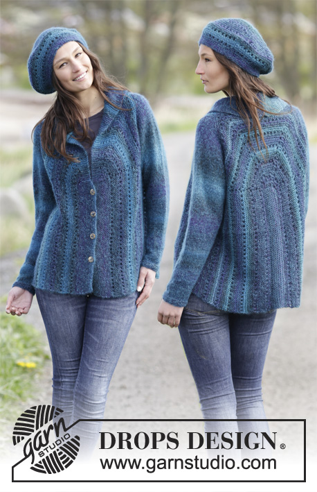 Free Loom Knitting Patterns For Scarves : Knitting Patterns Galore - Blue Danube