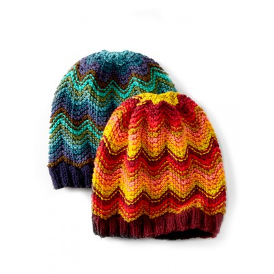 Knitting Patterns Galore Hats : Knitting Patterns Galore - Make Waves Hat