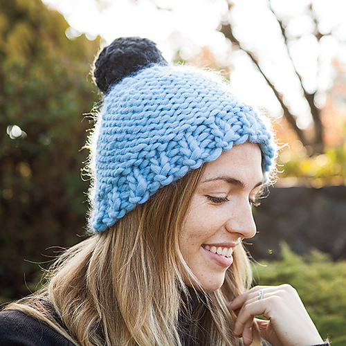 Knitting Patterns Galore Hats : Knitting Patterns Galore - Ayre Hat