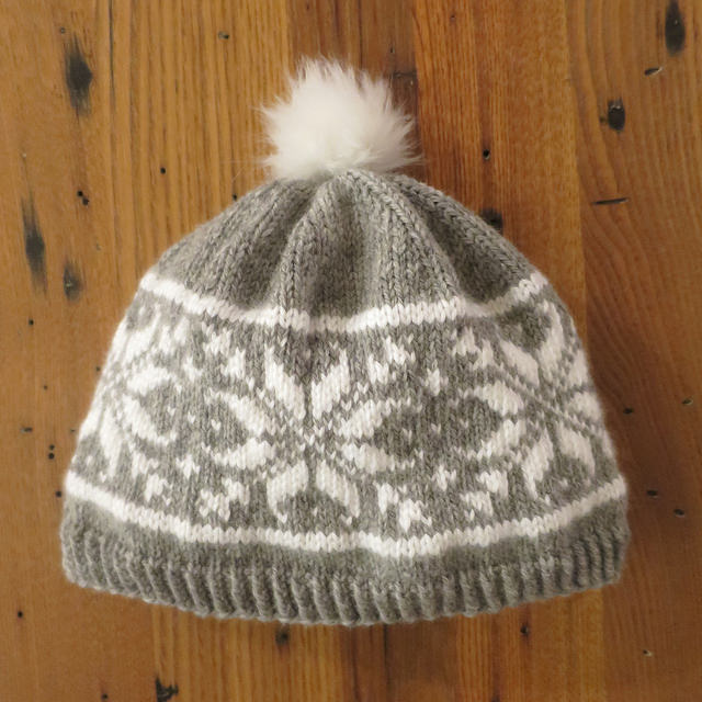 Knitting Patterns Galore Snow Bunny Hat