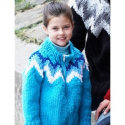 Kid's ZigZag Cardigan