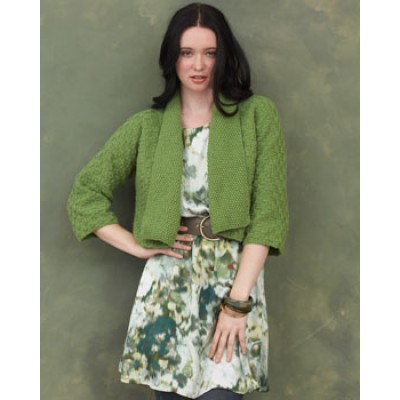 Knitting Patterns Galore - Kimono Sleeve Cardigan