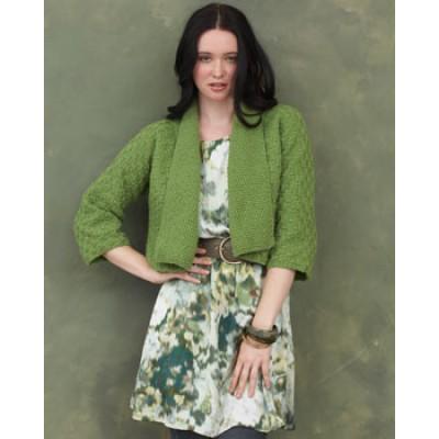 Knitting Patterns Galore Kimono Sleeve Cardigan