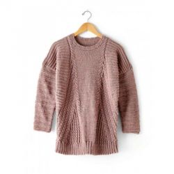 Directional Cables Sweater