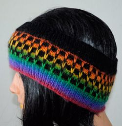 Slipped Stitch Ear Warmer
