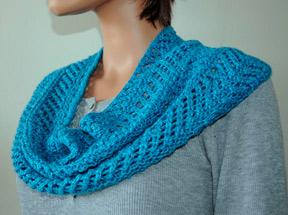 Free Knitting Pattern For Eyelet Cowl : Knitting Patterns Galore - Eyelet Cowl