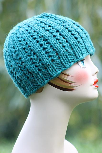 Knitting Patterns Galore - Rickrack Braid Hat