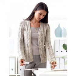 Lace and Cable Cardigan
