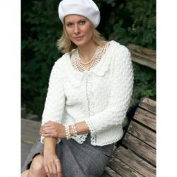 Lace Edge Cardigan