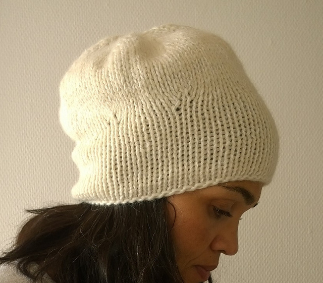 Knitting Patterns Galore Hats : Knitting Patterns Galore - Wave Hat