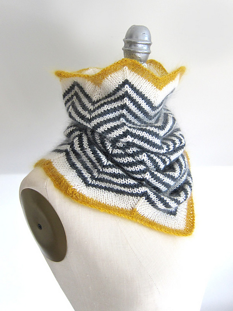 Knitting Patterns Galore - Fancy Zebra