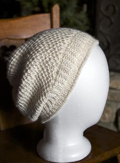 Knitting Patterns Galore Honeycomb Brioche Beanie