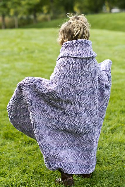 Knitting Patterns Galore Tumbling Blocks Baby Blanket