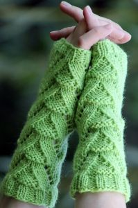 Lizard People Mitts
