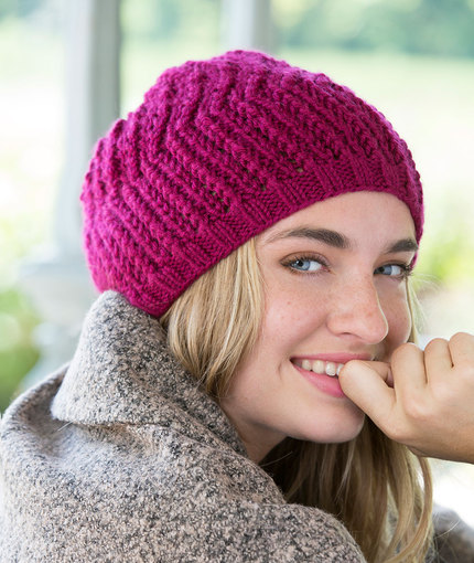 Knitting Patterns Galore Any Day Beret