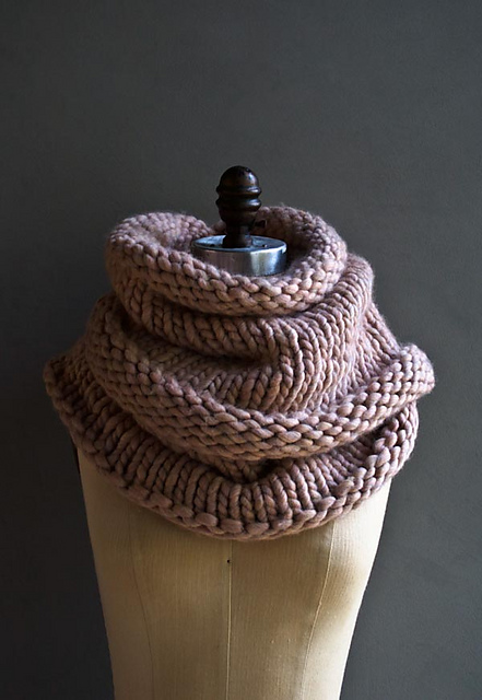 Knitting Patterns Galore Mountain Cowl